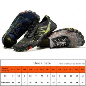 Loekeah Sepatu Pantai Olahraga Air Aqua Shoes Size 43 - SL1818 - Black - 11