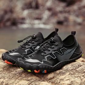 Loekeah Sepatu Pantai Olahraga Air Aqua Shoes Size 43 - SL1818 - Black - 3