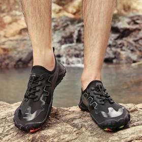 Loekeah Sepatu Pantai Olahraga Air Aqua Shoes Size 43 - SL1818 - Black - 4