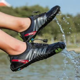 Loekeah Sepatu Pantai Olahraga Air Aqua Shoes Size 43 - SL1818 - Black - 8