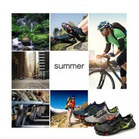 Loekeah Sepatu Pantai Olahraga Air Aqua Shoes Size 43 - SL1818 - Black - 9