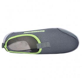 Sepatu Slip On Kasual Pria Size 41 - Dark Gray - 5