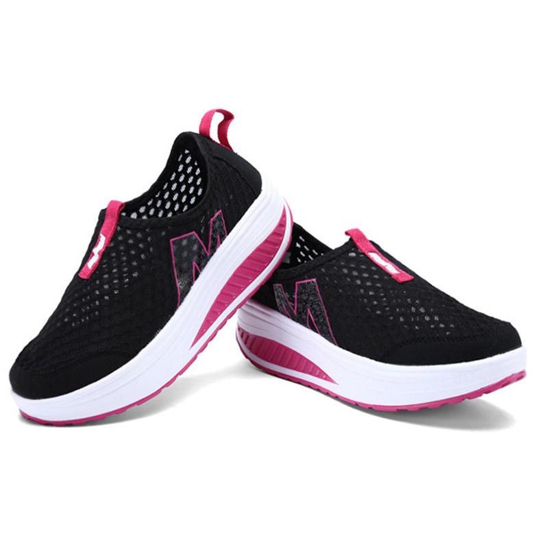 sepatu slip on m balance breathable casual womens shoe