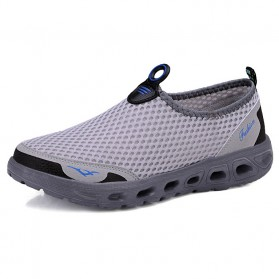 Tino Kino Sepatu Slip On Sport Pria Size 39 - HTD1049 - Gray