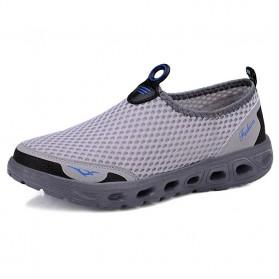 Tino Kino Sepatu Slip On Sport Pria Size 43 - HTD1049 - Gray