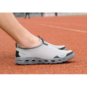 Tino Kino Sepatu Slip On Sport Pria Size 44 - HTD1049 - Gray - 3