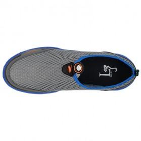 Tino Kino Sepatu Slip On Sport Pria Size 44 - HTD1049 - Gray - 9