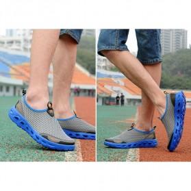 Sepatu Slip On Sport Pria Size 41 - Blue - 2