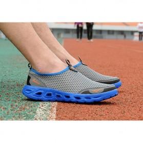 Sepatu Slip On Sport Pria Size 41 - Blue - 3