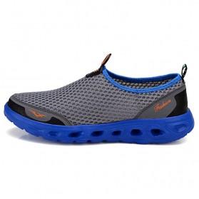 Sepatu Slip On Sport Pria Size 41 - Blue - 6