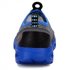 Sepatu Slip On Sport Pria Size 41 - Blue - 7