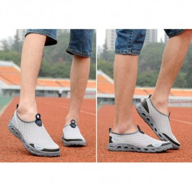 Tino Kino Sepatu Slip On Sport Pria Size 42 - HTD1049 - Gray - 2