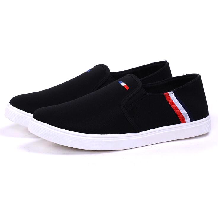 Sepatu Slip On Pria Size 44 - Black - JakartaNotebook.com 782e142c2f