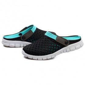 Sepatu Sandal Slip On Santai Pria Size 37 - Blue - 2