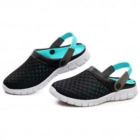 Sepatu Sandal Slip On Santai Pria Size 37 - Blue - 3