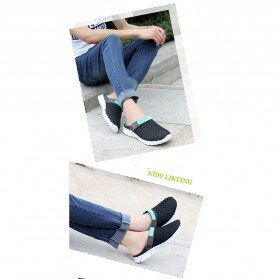 Sepatu Sandal Slip On Santai Pria Size 37 - Blue - 6