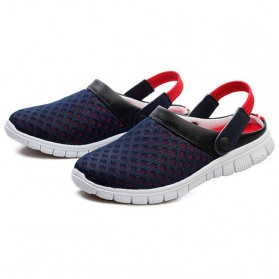 Sepatu Sandal Slip On Santai Pria Size 36 - Red - 2