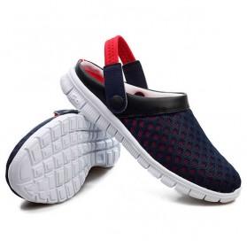 Sepatu Sandal Slip On Santai Pria Size 36 - Red - 3