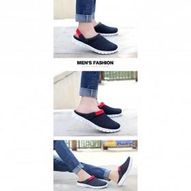 Sepatu Sandal Slip On Santai Pria Size 36 - Red - 6