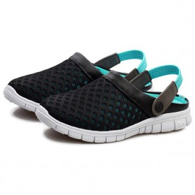 Sepatu Sandal Slip On Santai Pria Size 39 - Blue
