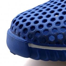 LEDA Sepatu Sendal Slip On Santai Size 40 - Black - 6