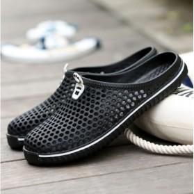 Sepatu Sendal Slip On Santai Size 43 - Black
