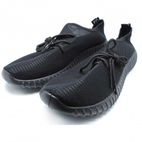 Sepatu Mesh Pria Sport Yezi Boost Size 39 - Black