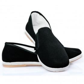 VESONAL Sepatu Kasual Slip-on Pria Size 41 - E066 - Black