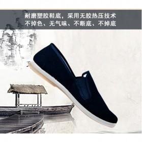 VESONAL Sepatu Kasual Slip-on Pria Size 41 - E066 - Black - 4