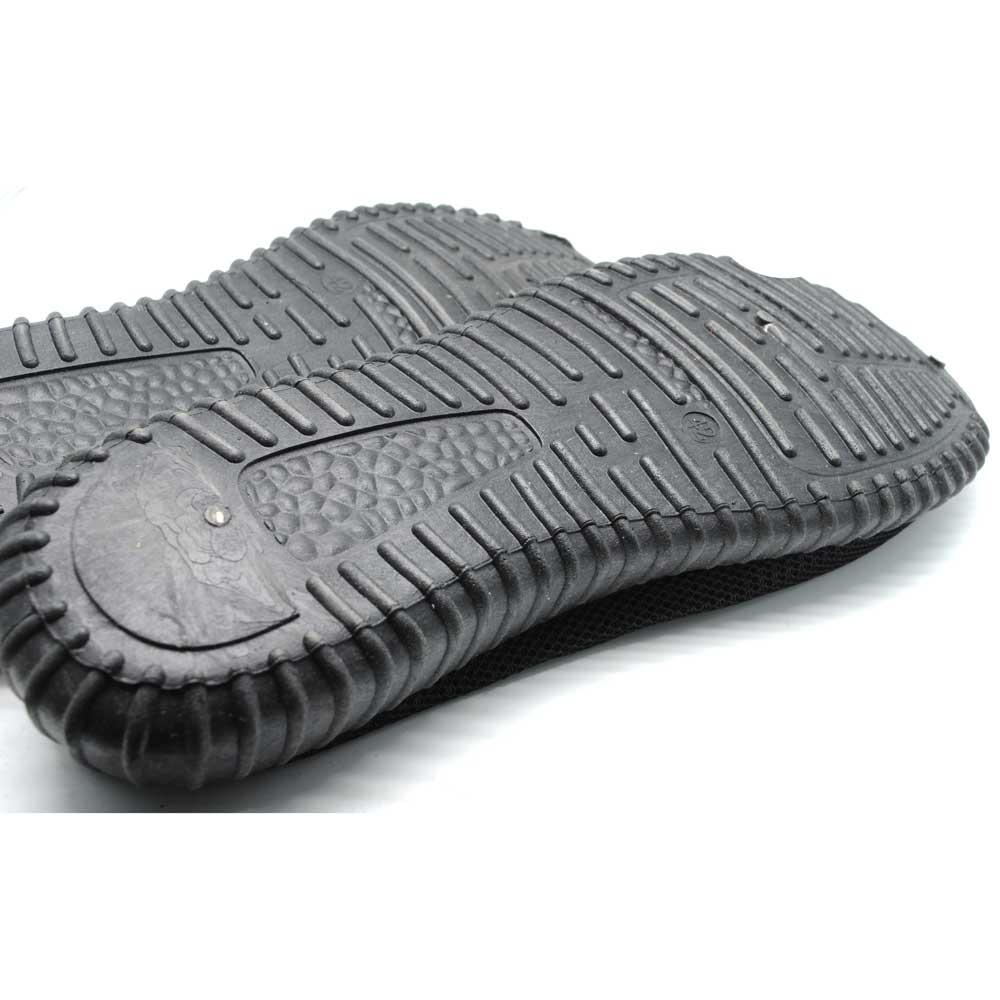 Sepatu Mesh Pria Sport Yezi Boost Size 41 Black Branded Maroon Ampamp 4