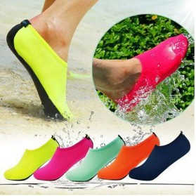 MWSC Sepatu Pantai Slip On Aqua Beach Slippers Size M - XH8002 - Pink - 3