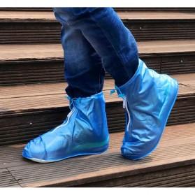 Favolook Cover Hujan Sepatu Waterproof Size M - XZ899 - Blue - 1