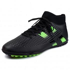 Sepatu Olahraga Futsal Indoor Pria Size 42 - Black - 3