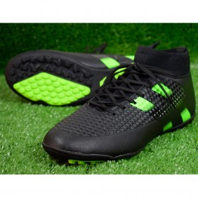 Sepatu Olahraga Futsal Indoor Pria Size 42 - Black - 4