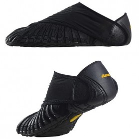Vibram Furoshiki Sepatu Slip On Running Wrap Sneaker Size 38-39 (Replika 1:1) - Black