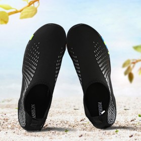 Sepatu Sneaker Pantai Olahraga Air - 1818 - 43 - Black/Gray - 3