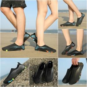 Sepatu Sneaker Pantai Olahraga Air - 1818 - 43 - Black/Gray - 4