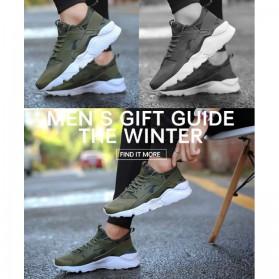 Sepatu Sneaker Huarache NMD EQT Sporty Size 37 - Black - 5