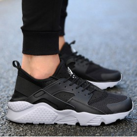 Sepatu Sneaker Huarache NMD EQT Sporty Size 38 - Black - 2