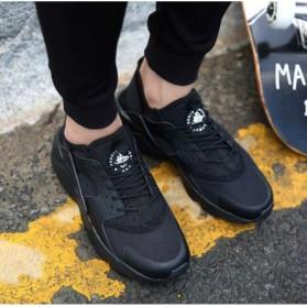 Sepatu Sneaker Huarache NMD EQT Sporty Size 39 - Black - 3