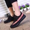 Sepatu - Sepatu Slip On Yezi Boost Play-099 Pria Size 44 - Black