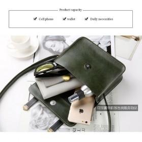 Tas Selempang Mini Korean Style Messenger Bag - X940539 - Black - 4