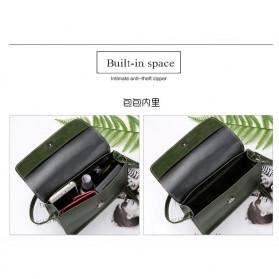 Tas Selempang Mini Korean Style Messenger Bag - X940539 - Black - 5