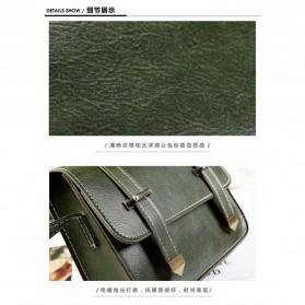 Tas Selempang Mini Korean Style Messenger Bag - X940539 - Black - 6