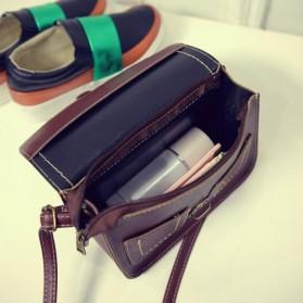 Tas Selempang Korean Retro Style Messenger Bag - JM1541 - Black - 5