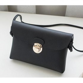 Tas Selempang Mini Wanita Korean Style Bag - MZ9020 - Black