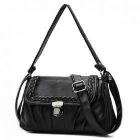 SKISP Tas Selempang Wanita Korean Style Bag - ER6156 - Black