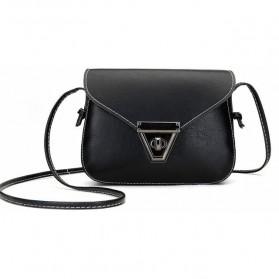 Tas Selempang Wanita Klasik - XB01-207 - Black