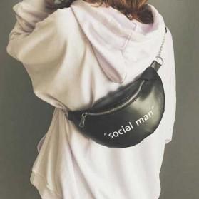 Tas Selempang Wanita Sling Bag Social Man - 2S8043 - Black