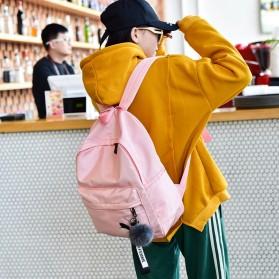 Tas Ransel Wanita Leaf Ribbon Backpack - 170129 - Black - 5